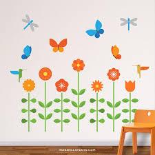 flower u0026 garden wall decals u2013 maxwill studio