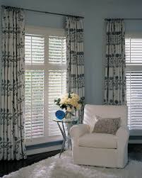 White Wood Blinds Bedroom Decorating Exciting Plantation Blinds For Traditional Bedroom Design