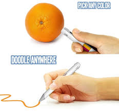 this smart pen u0027s ink changes based on whatever color you scan