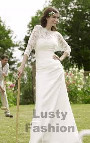 Vintage Style Wedding Dresses Modern Vintage Wedding Dress 1 Lustyfashion