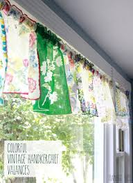 Vintage Green Curtains 10 Adorable Diy Ideas For Vintage Hankies Vintage Handkerchiefs