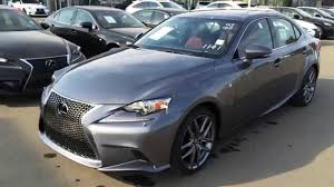 lexus is200 hatchback new grey on rioja red 2015 lexus is 250 awd f sport series 3 walk