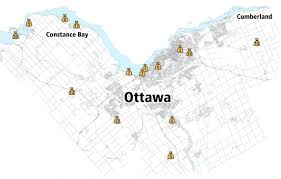 Map Of Ottawa Canada by In The Flood Zone Where To Get Sandbags Ctv Ottawa News