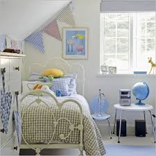 bedroom engaging white and blue bedroom decoration using curved