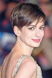 anne hathaway short hairstyles hairstyles for women