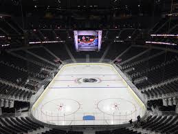 Staples Center Seat Map Best Worst Seat From Each P Section At T Mobile Arena Sinbin Vegas