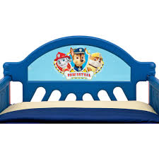 disney or nickelodeon toddler bed with bonus collapsible toy box