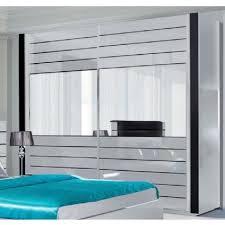 armoire design chambre armoire lina blanche et laquée tout équipée meuble design