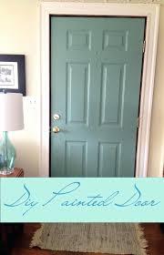 Spray Painting Interior Doors Front Doors Inspirations Painting The Front Door 77 Painting The