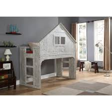 Bunk Bed House Tree House Bunk Bed Wayfair Ca