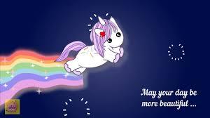 Unicorn Birthday Meme - happy birthday unicorn ecard funny birthday wishes youtube