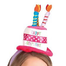 happy birthday hat happy birthday hat headband fancy dress celebration adults