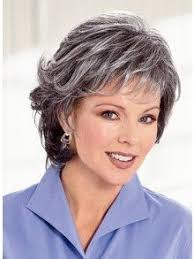 how to wear short natural gray hair for black women image result for salt and pepper hair women hairstyle ideas