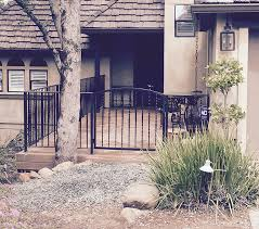 stunning custom ornamental iron gates and railing install