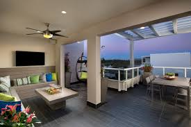 landmark 2 story townhome model b rooftop terrace doral fl