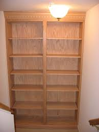 Light Oak Bookcases Built In Bookcases Custom Woodworking Shop