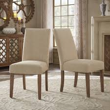 Slipcovered Parsons Dining Chairs Potomac Slipcovered Parsons Dining Chairs Set Of 2 By Inspire Q