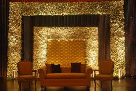Engagement Decoration Ideas by Simple Stage Decoration With Clothes Wedding Stage Decoration