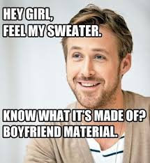 Whats For Dinner Meme - ryan gosling meme regular guy brewing