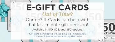 e gift certificates gift cards