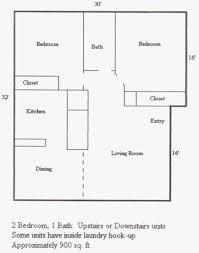 1 Bedroom 1 1 2 Bath House Plans Park West Apartments Redding Ca Apartments For Rent