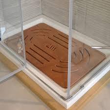 pedana legno pedana doccia legno marino okumé cm 96 x 67 per piatti 120 x 80