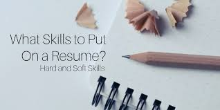 what to put on a resume for skills and abilities exles on resumes skill for resume exles functional skills resume exles