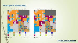 ip address map ipv4 address allocation by continents