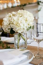 hydrangea centerpieces best 25 jar hydrangea ideas on gold glitter