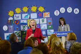 hillary clinton s childhood hillary clinton and the democratic divide on education us news