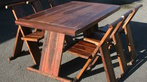 Collapsing Dining Table Folding Dining Table And Chairs Youtube With Folding Dining Table
