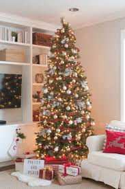 a neutral metallic u0026 buffalo check christmas tree