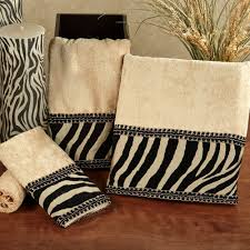 patterned towels for bathroom furniture ideas