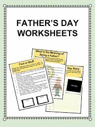fathers day facts worksheets kidskonnect