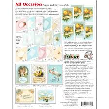 all occasion cards scrapsmart all occasion cards and envelopes cd rom walmart