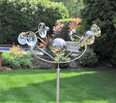 chic garden decor wind spinners copper wind spinner unique outdoor