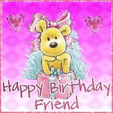 birthday friend greeting ecard