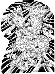 japanese tribal dragon tattoo designs pictures to pin on pinterest