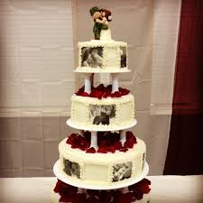 theme wedding cakes army wedding cakes tiered cake wedding cakes
