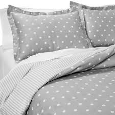 Polka Dot Comforter Queen Dots And Stripes Reversible Duvet Cover Set Bedrooms Pinterest