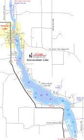 map of michigan lakes intermediate lake map chain o lakes antrim county michigan