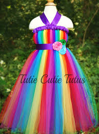 Minion Tutu Dress Etsy Rainbow Dash Inspired Tutu Dress Tutiecutietutus Etsy