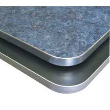 Formica Table Tops by Wood Goods Industries 5950 Laminate Table Tops With Aluminum Edge
