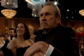 Tommy Lee Jones Meme - tommy lee jones is the meme chion of the golden globes the