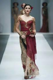 wedding dress batik 35 galeri dress batik avantie yang trendi duabatik