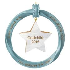goddaughter christmas ornaments godchild ornament keepsake ornaments hallmark
