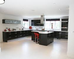 Red Black White Kitchen - black white red kitchen abacud com