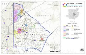 Atlanta Marta Train Map by Dekalb County 2014 Transportation Plan