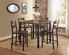 3 Pc Kitchen Table Sets by Counter Height Kitchen Table Ebay