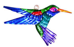hummingbird ornament 4 set of 6 company